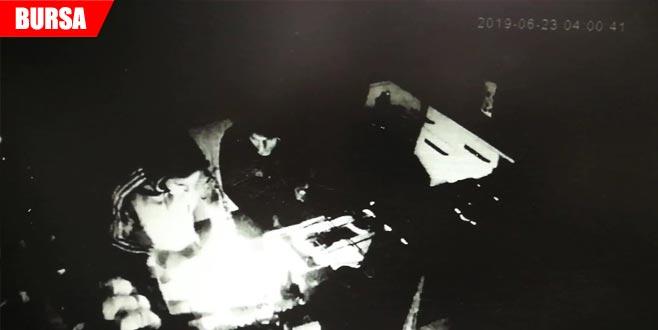 Hırsızlar veresiye defterini çaldı