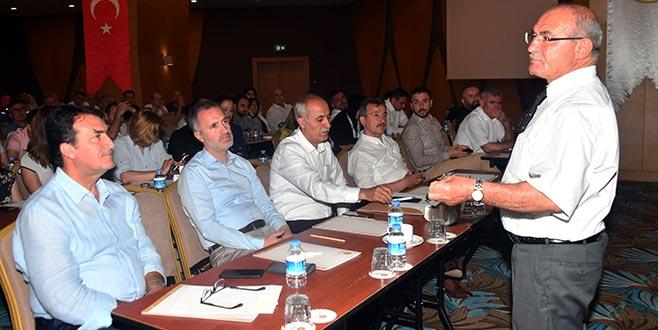 Bursa belediyelerine hizmet içi eğitim semineri