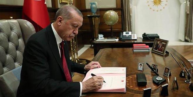 Cumhurbaşkanı Erdoğan, Askerlik Kanunu'nu imzaladı