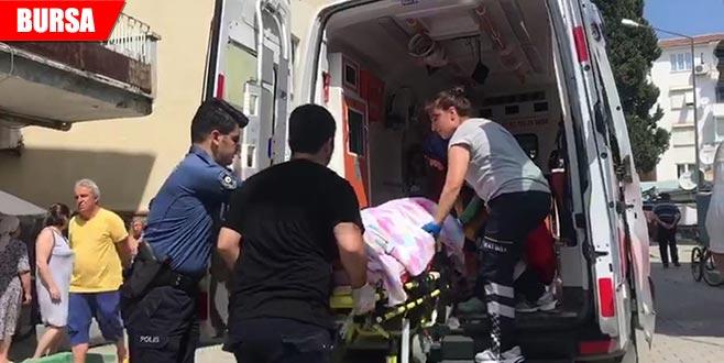 3. kattan düşen kadın ağır yaralandı