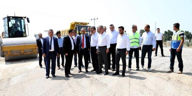 Mustafakemalpaşa'da yatırımlar hız kazandı