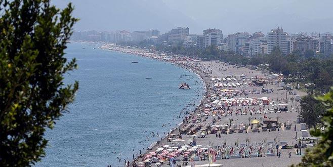 Antalya'da tarihi rekor