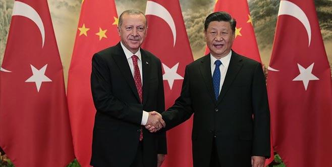 Erdoğan: Türkiye-Çin iş birliğinin güçlendirilmesi için potansiyel büyük