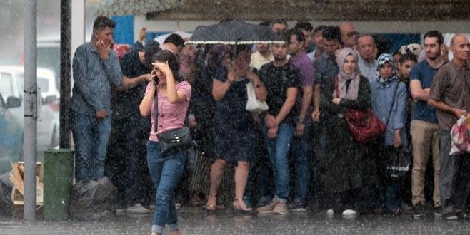 Meteoroloji'den Bursa ve çok sayıda ile kuvvetli yağış uyarısı
