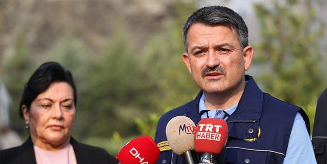 Bakan'dan İzmir'deki yangınla ilgili son dakika açıklaması