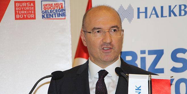 Halkbank'tan Bursa'ya özel önem