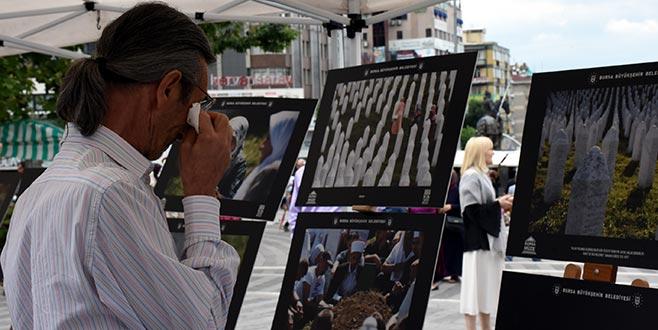 Srebrenitsa şehitleri Bursa'da anıldı