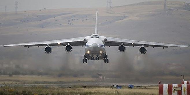 S-400 sevkiyatında üçüncü gün! Yedinci uçak geldi