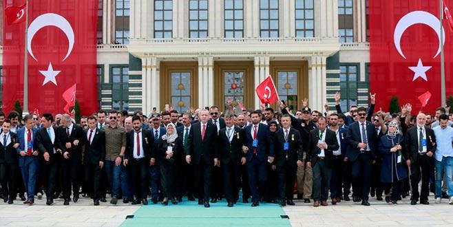 Ankara'da ilk tören Beştepe'de