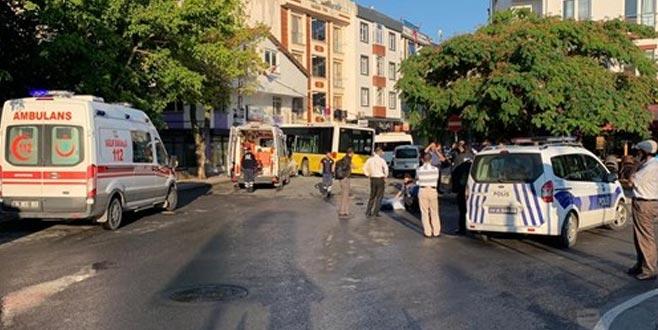 Belediye otobüsü dükkana girdi: 1 ölü, 3 yaralı
