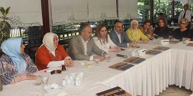 Ak kadınlar Bursa için göreve hazır