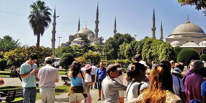 İstanbul'da turist rekoru