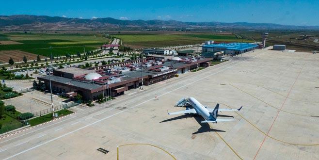 Yenişehir Havaalanı'nında 300 bin yolcu hedefi