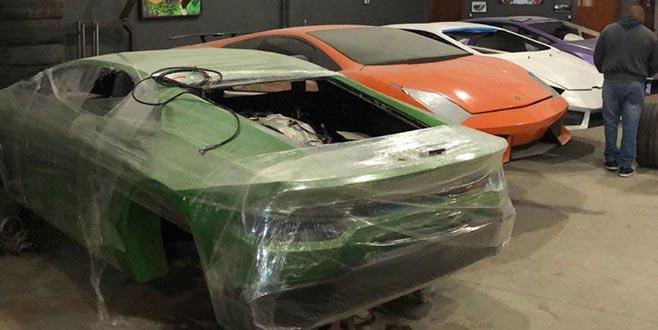 Sahte Ferrari ve Lamborghini üreten fabrikaya kilit