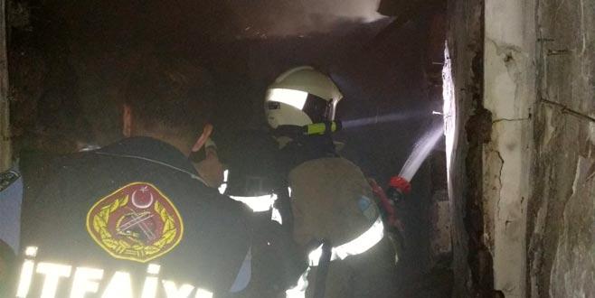 Balıkesir'de evde patlama ve yangın: 1 ölü