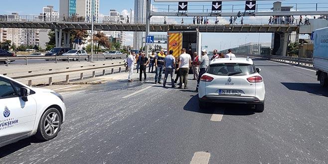 İstanbul Valiliği'nden 'E-5'te göçük' iddiasına açıklama