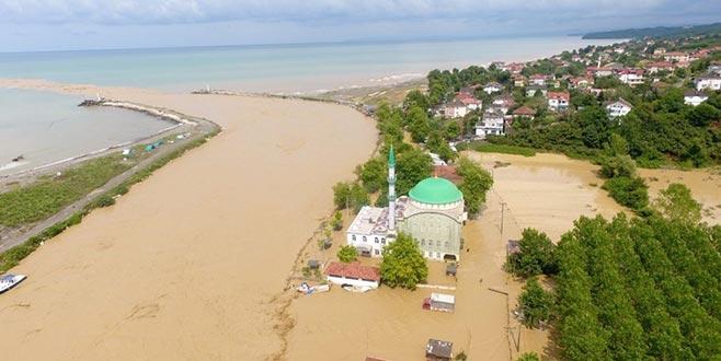 Sel felaketinin yaşandığı Düzce için sağanak uyarısı
