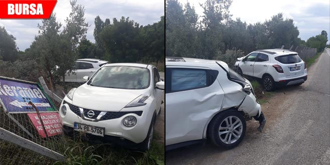 Orhangazi kaza: 3 yaralı
