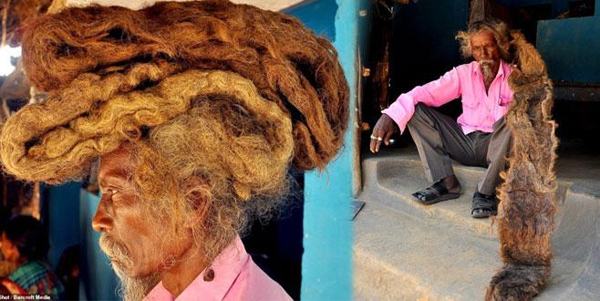 40 yıldır saçını yıkamıyor! Sebebi ise şoke edici