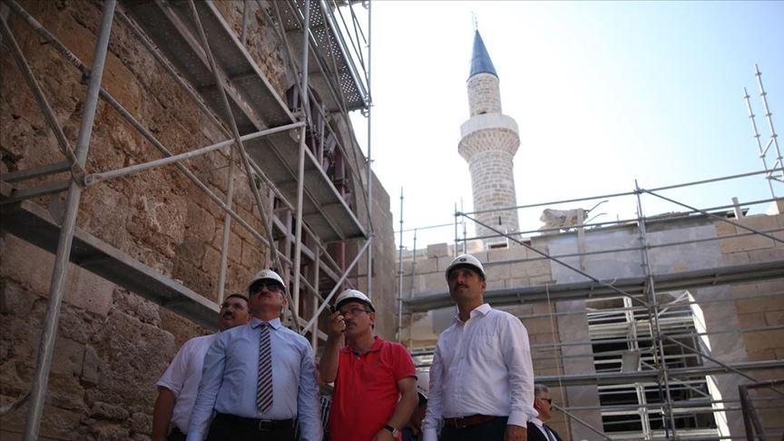 'Korkut Camisi restore edilmeseydi yağmur ve fırtınada çökerdi'