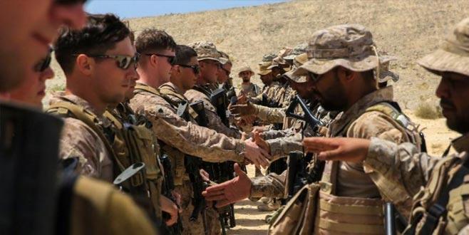 ABD askerlerine Kral'dan onay