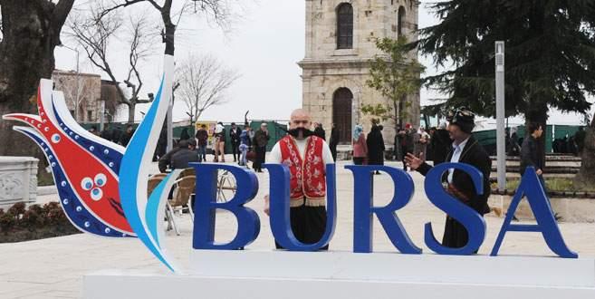 Bursa'da ilginç protesto