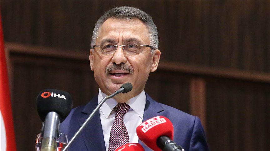 Cumhurbaşkanı Yardımcısı Oktay: Türkiye vatandaşlarını korumakta daima kararlı olmayı sürdürecek