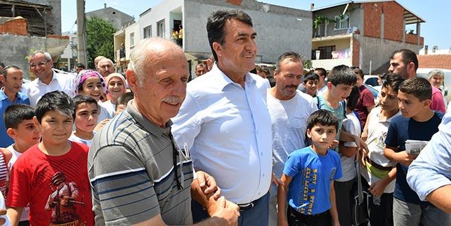 'Osmangazi'yi birlikte daha ileriye taşıyacağız'