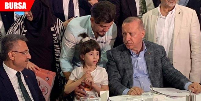 Erdoğan yakından ilgilenmişti... Vekillerden küçük Zeynep'e ziyaret