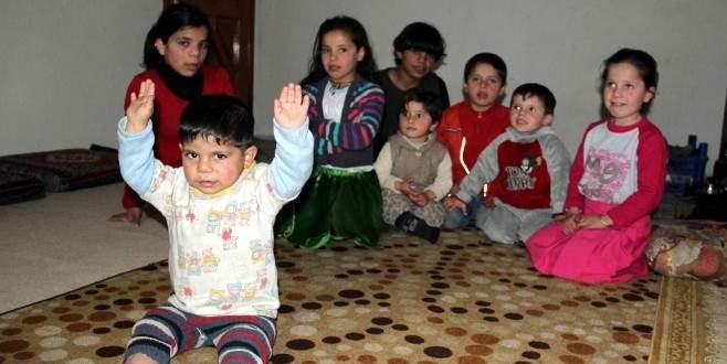 Suriyeli 10 kardeş yardım bekliyor