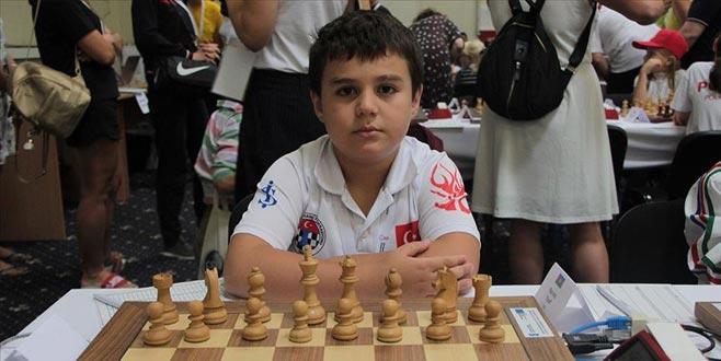 8 yaşında '8'de 8' yaparak Avrupa şampiyonu oldu