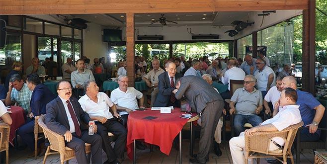 İYİ Partililer bayramlaştı