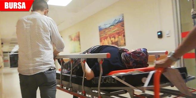 Römorktan düşen kadın yaralandı