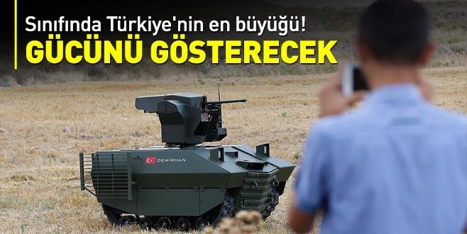 Sınıfında Türkiye'nin en büyüğü! Gücünü gösterecek