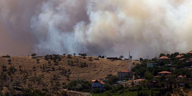 İzmir'de iki ilçede orman yangını