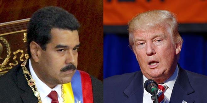 Venezuela ile gizli görüşme