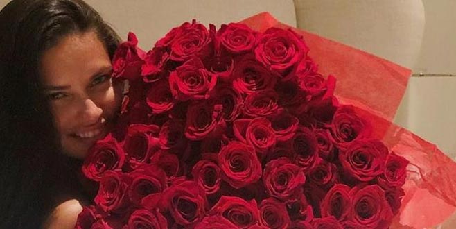 Türk sevgilisinden Adriana'ya 225 gül