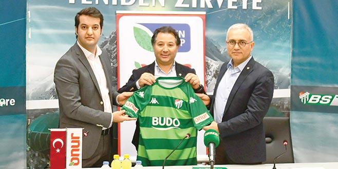 Bursaspor'a 'Onur'lu destek