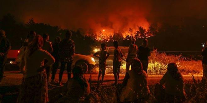 Karabağlar'daki yangın kontrol altına alındı