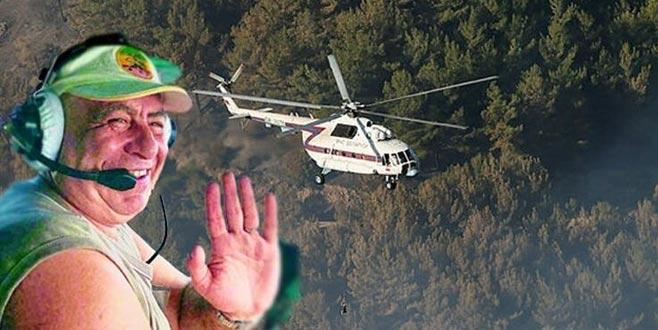İzmir yangınında da görev yapan pilottan acı haber