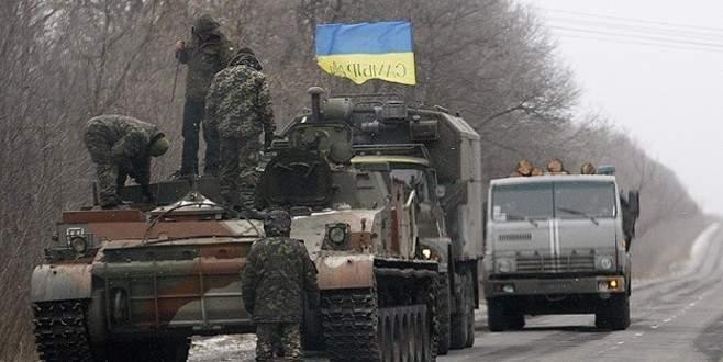 Ukraynalı askerler Debaltseve'den çekildi