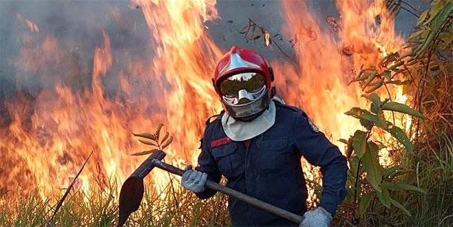 Yangınla gelen diplomatik gerilim