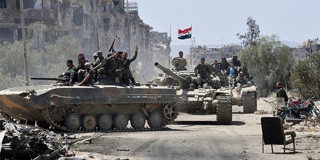 Esad ilerliyor