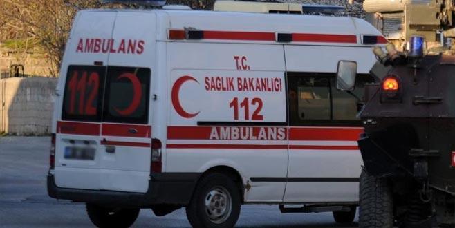 Diyarbakır'da zırhlı polis aracı devrildi: 2 şehit, 4 yaralı