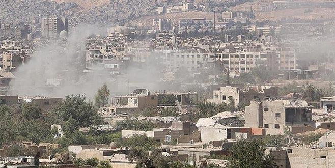 İsrail İran'aŞam'da saldırdı