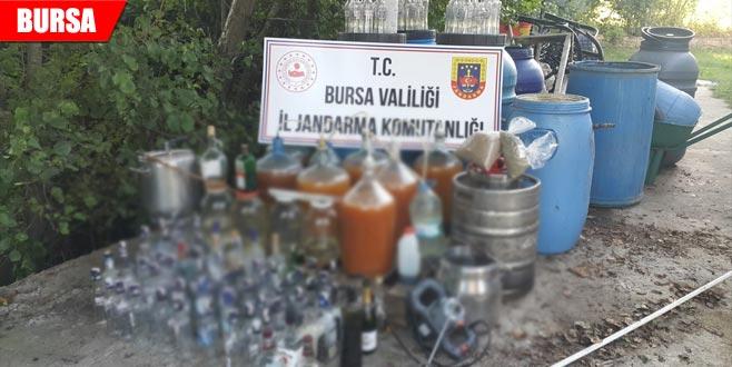Kaçak içki operasyonu
