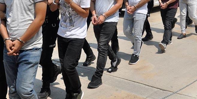 Bursa'da terör propagandası yapanlara operasyon: 6 gözaltı