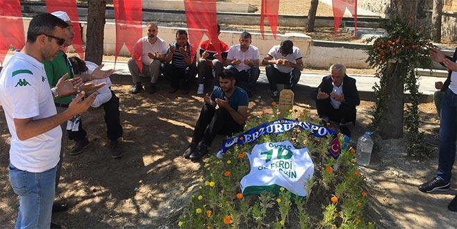 Bursaspor taraftarlarıErzurum'da kurban kesti