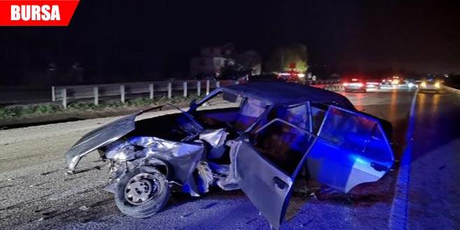 Kavşakta kaza: 10 yaralı
