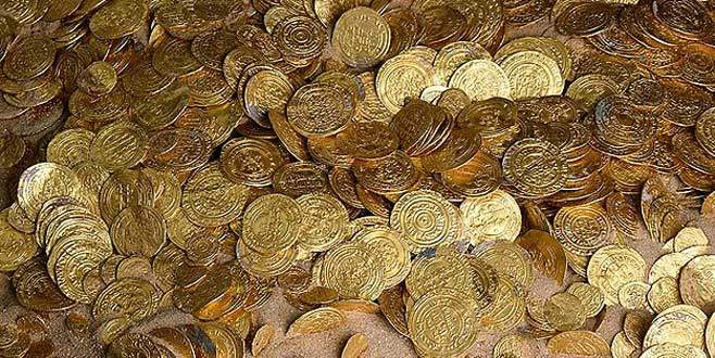 'Bin yıllık batık hazine' bulundu